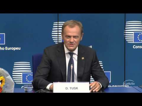 "Tusk after his appointment as EU Council President: ""I am really moved"""