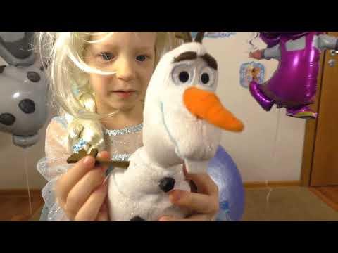 ДЕНЬ РОЖДЕНИЯ Миланы! Frozen Giant Surprise Egg. Elsa and Olaf In Real Life + Kinder Egg Frozen