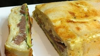 Sausage And Egg Bread Terrine - Simpley Cooking