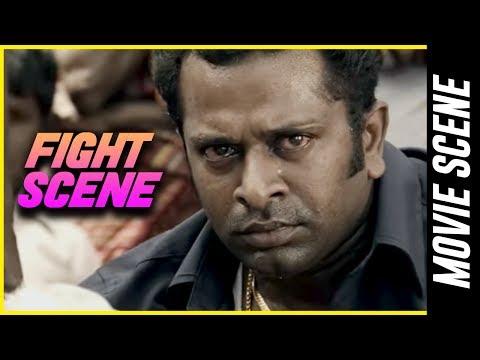 Madha Yaanai Koottam - Fight Scene | Kathir | Oviya | G. V. Prakash Kumar