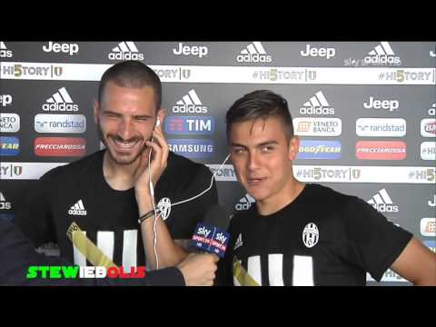Intervista Doppia a Dybala e Bonucci ● Juventus Campione d'Italia 2016 ● Sky Sport HD ● #HI5TORY