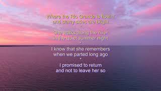 DJI Phantom 4 Mitch Miller - The Yellow Rose of Texas lyrics