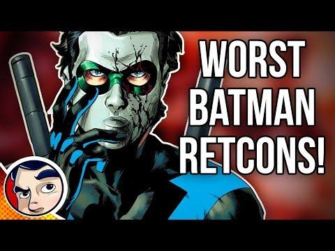 7 Of the Worst Batman Retcons!