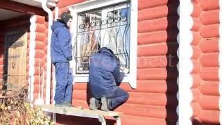 Кованые решетки с пиками - Стальной Декор(Решетки на окна высокого качества, без предоплаты. (495) 662-96-53., 2015-03-21T12:32:06.000Z)