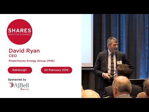 Powerhouse Energy Group (PHE) - David Ryan, CEO