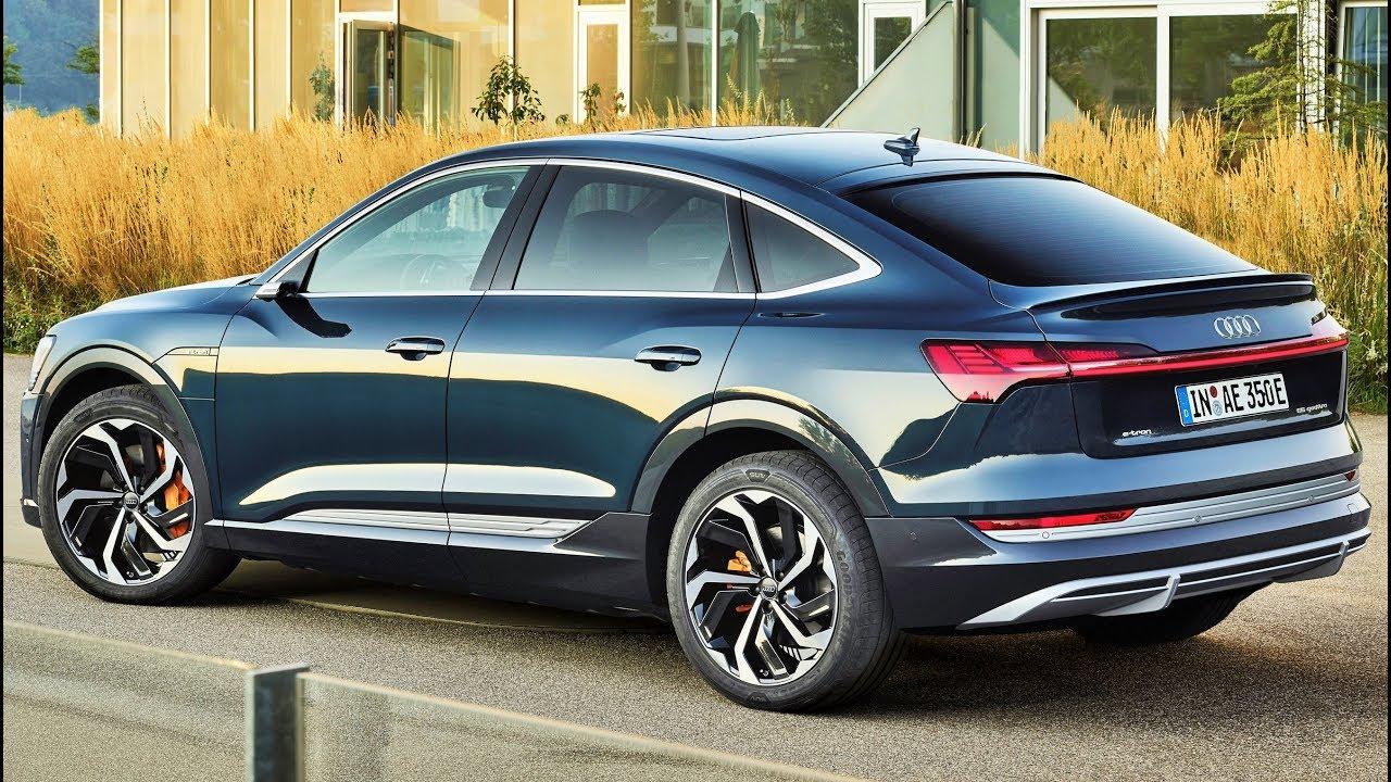 2020 Audi E Tron Sportback 55 Quattro Fast Luxury Electric Suv Youtube