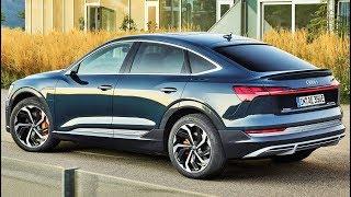 2020 audi e-tron sportback 55 quattro - drive, interior and exterior. color: plasma blue. subscribe. the allows driver t...