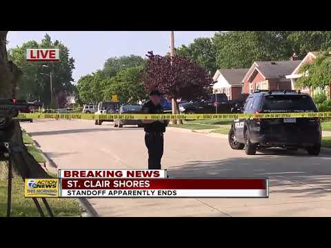 Neighbor Speaks After 32-hour Standoff Ends In St. Clair Shores