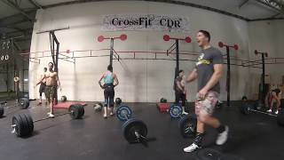 OCT Throwdown 2015 - Qualifier #3 - TEAM ROMWOD - Tonia Osborne & Chelsey Grigsby