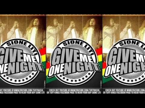 SIONE LITI - GIVE ME ONE NIGHT