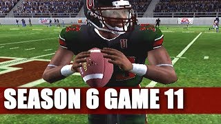 HEISMAN AND CHAMPIONSHIP PUSH - NCAA FOOTBALL 06 PRIME U DYNASTY (S6G11)