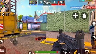 MaskGun Online Multiplayer Shooting Game - Android GamePlay FHD #1