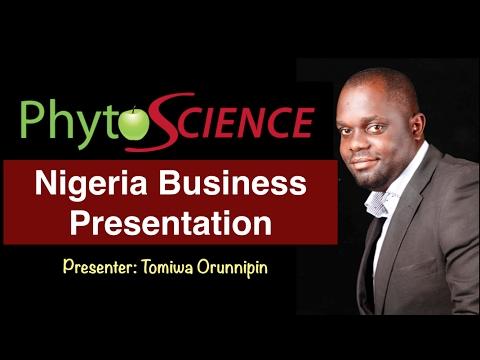 Phytoscience Nigeria Business Presentation