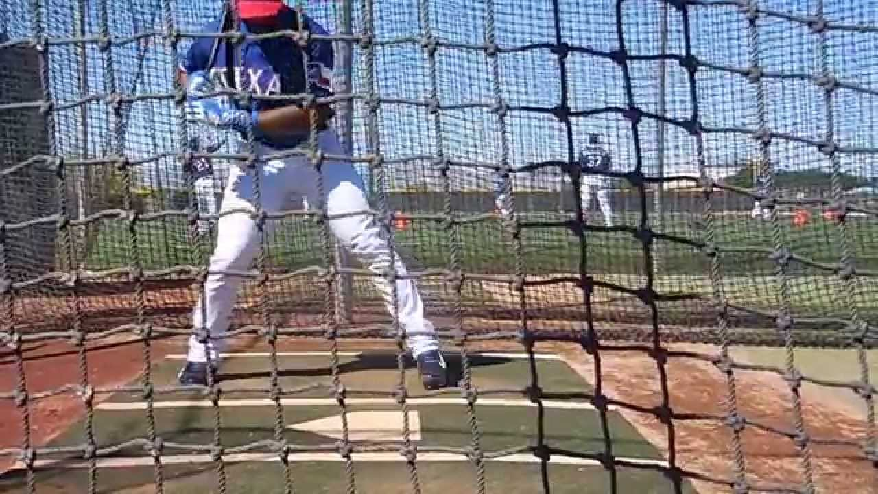russell wilson batting cage youtube