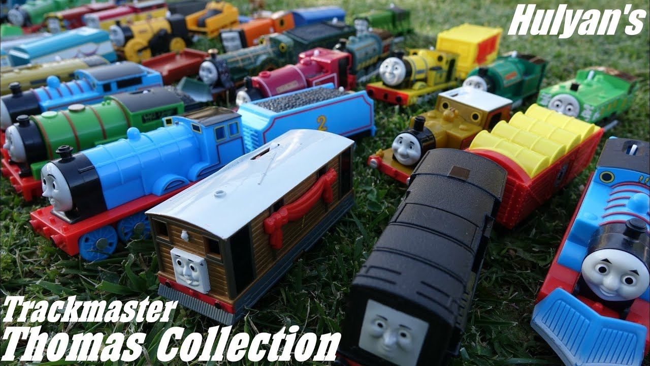 Best Thomas And Friends Toys And Trains : Hulyan s thomas friends trackmaster toy train collection