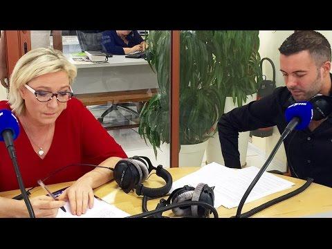 Interview de Marine Le Pen par Charles Luylier - Radio Freedom