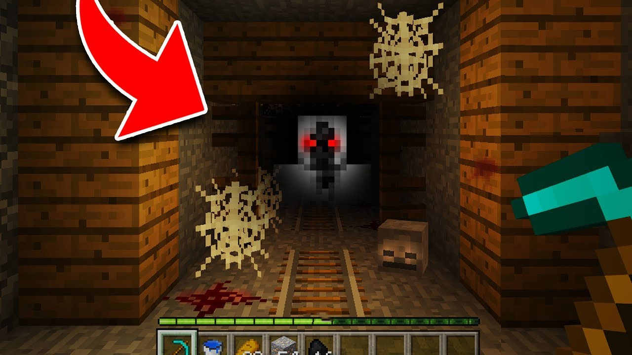 Do Not Enter This Mineshaft In Minecraft Cursed Secre