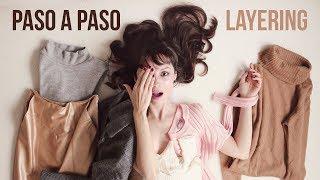 Cómo vestir por capas: LAYERING en 8 outfits | HOW TO LAYERING your outfits