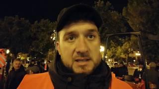 12.02.2019  BISCEGLIE Presidio di agricoltori in piazza V. Emanuele II