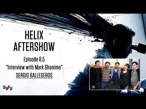 """Helix After Show """"Interview with Mark Ghanime""""   AfterBuzz TV"""