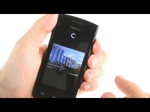 Nokia 500 user interface demo