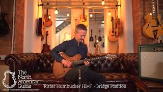 Ritter Instruments Porsch Electric Guitar, Rose Champagne With Stuart Ryan