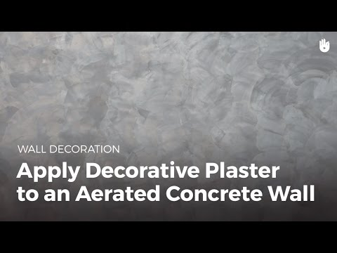 How To Apply Decorative To Plaster A Wall   DIY Projects