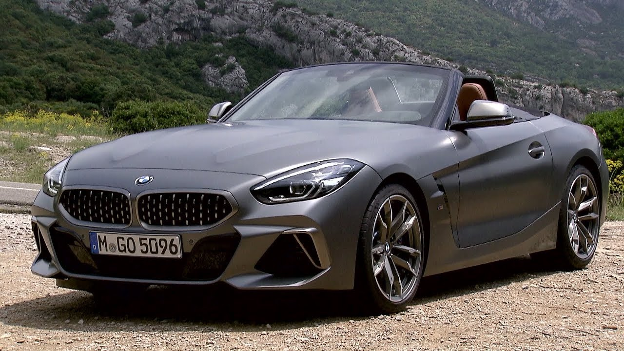2019 Bmw Z4 Frozen Grey Exterior Interior Youtube