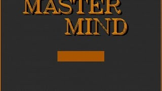 The Mastermind gameplay (PC Game, 1992)