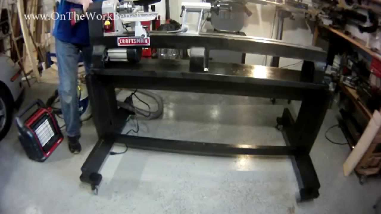 Building an Ultimate Lathe Stand