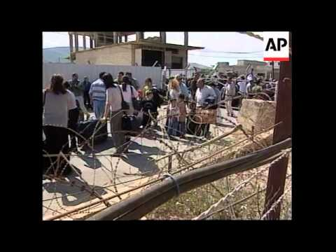 ISRAEL: LEBANON REFUGEE EXODUS 2