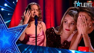Paz Padilla cries after an emotional performance | Semifinal 03 | Spain's Got Talent 2021