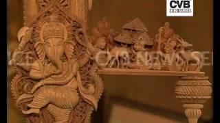 Sandalwood Craftsman Builds Replica Of Taj Mahal