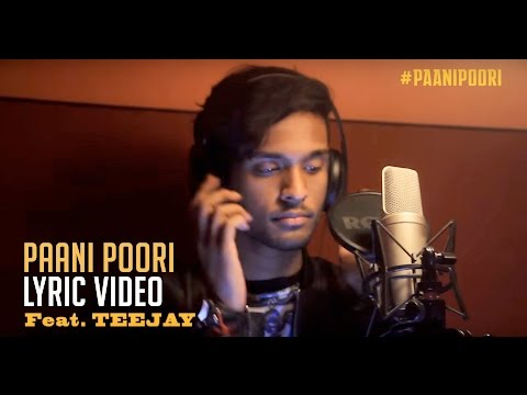 Sawaari | Paani Poori Lyric Video | Vishal Chandrasekhar ft.Teejay | Guhan Senniappan | Trend Music