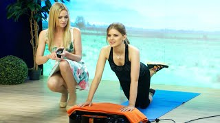 Get fit with Jana Hartmann! Vibration plates in the test