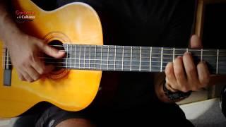 Cómo Llevar al son cubano Vida Loca de Pancho Céspedes - Guitarra a lo cubano - Oscar Huerta
