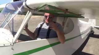 Alex Flies his Mini Cub First Solo Flight thumbnail