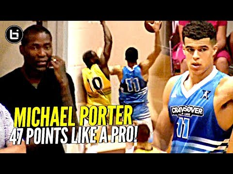 Thumbnail: Michael Porter Jr DROPS 47 Points at Jamal Crawford's Pro Am!! This Kid Is a LEGIT PRO!