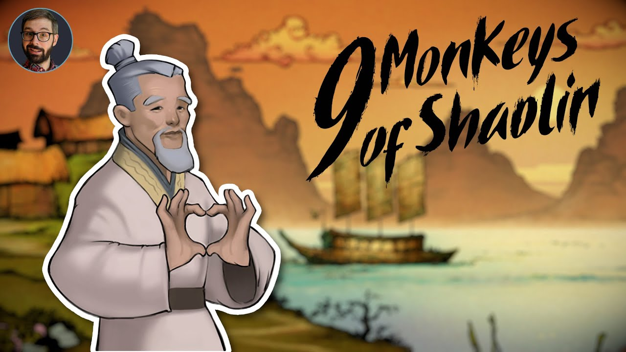 9 Monkeys of Shaolin Review | old school beat em' up (Video Game Video Review)