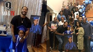 Derrick Rose Son PJ Growing Up Fast, Graduates From Kindergarten! 🎓