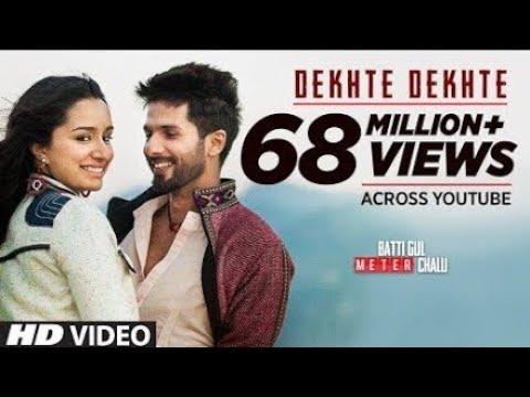 Dekhte Dekhte Free Song Download, Dekhte Dekhte Free HD Video Song Download, Dekhte Dekhte_Zee Music