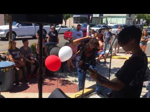 Jackson Rock Hartline / Age 10 / Drums / Elk Grove School Of Rock Grand Opening