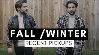 Fall / Winter Recent Pickups & Try On | Fall Fashion Haul | Mens Fashion Inspiration