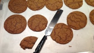 Ultra Soft & Chewy Ginger Cookies - A Great Autumn Recipe From Bakeyourwaykitchen!