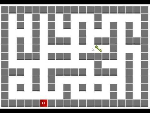 Random Maze Gen  with Door & Key