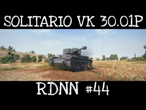 Solitario VK 30.01P | RDNN #44 | World Of Tanks ITA