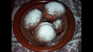 Рецепт пончиков от моей мамы/Рецепт пампушок від моєї мами/Тесто для пончиков/Пончики Берлинеры