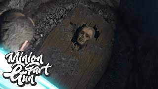 Micheal's Graf Open Graven In North Yankton! - GTA 5 - MinionFartGun