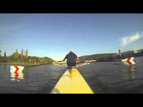 Rowing in Heidelberg Part 1