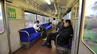 三岐鉄道北勢線 楚原~大泉 車窓と車内風景 Sangi Railway Hokusei Line, Sohara to Ōizumi (2019.2)